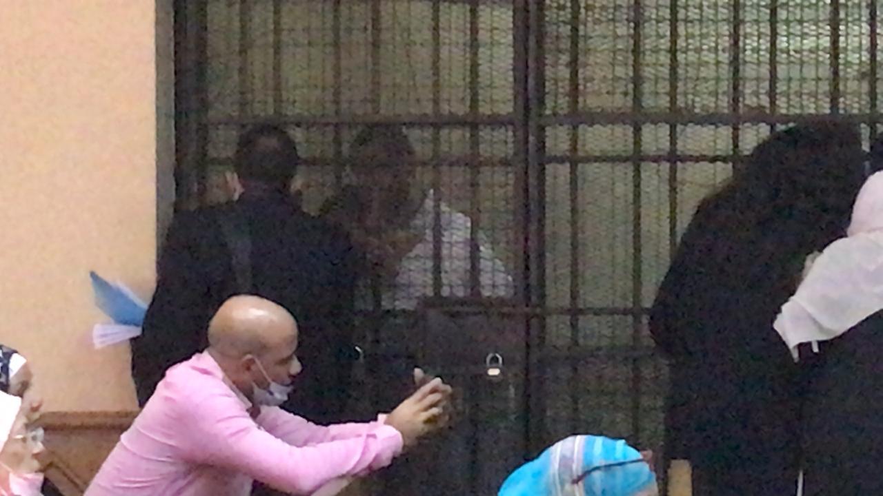الظهور الأول للمتهمين بقتل فتاة المعادى (2)