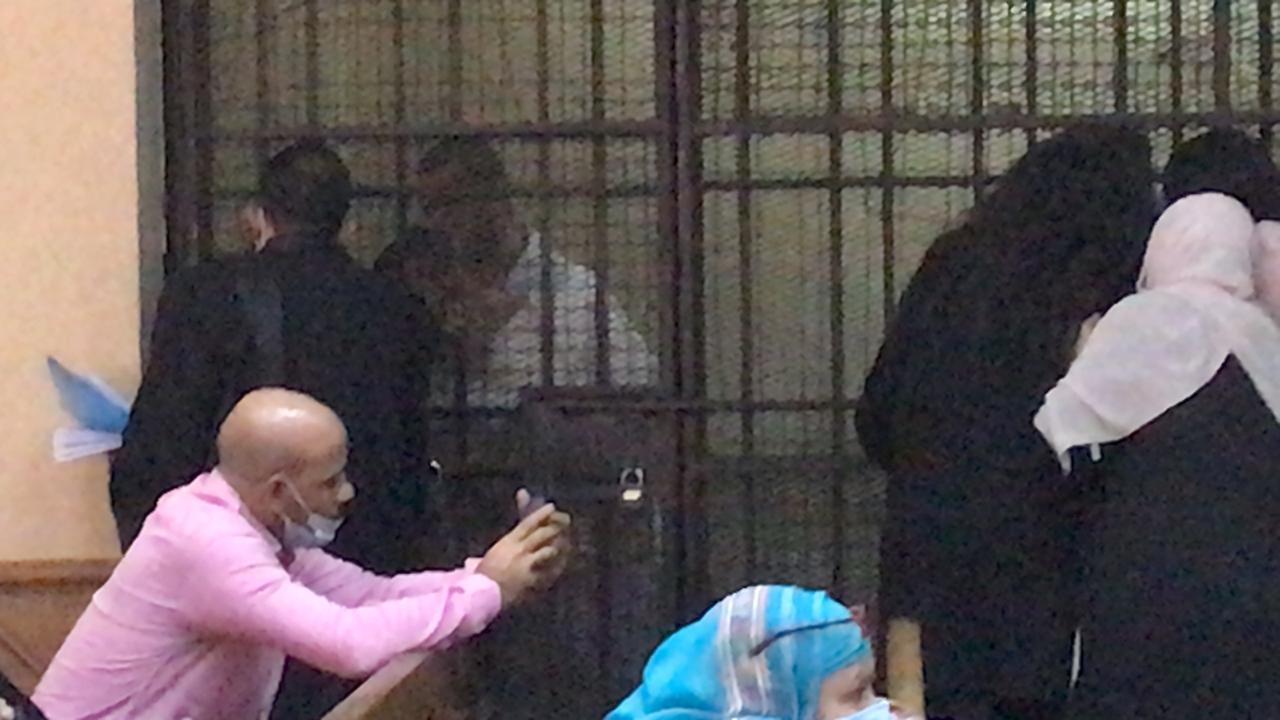 الظهور الأول للمتهمين بقتل فتاة المعادى (3)