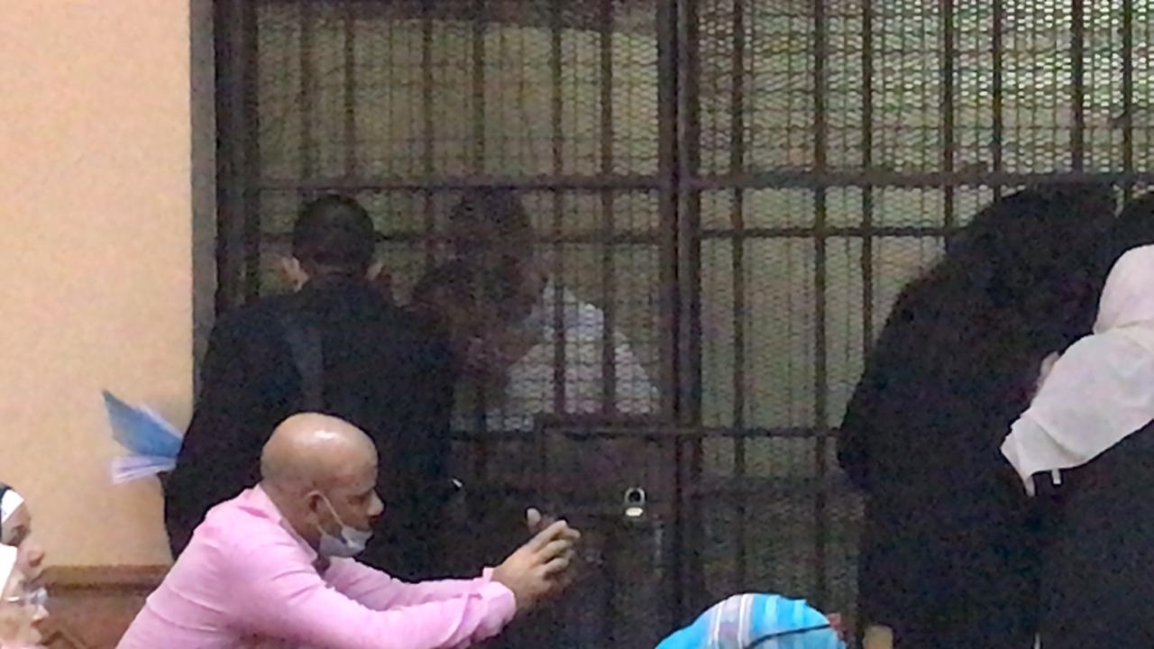 الظهور الأول للمتهمين بقتل فتاة المعادى (1)