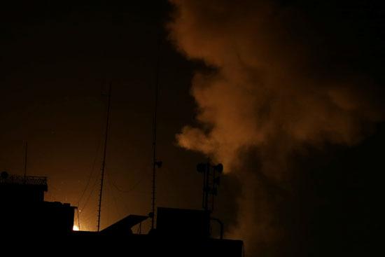 غارات طيران الاحتلال الاسرائيلى على غزة (2)