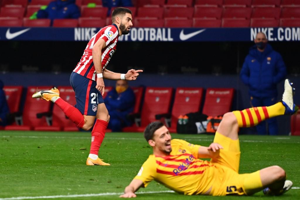 كاراسكو يسجل أول أهداف أتلتيكو مدريد