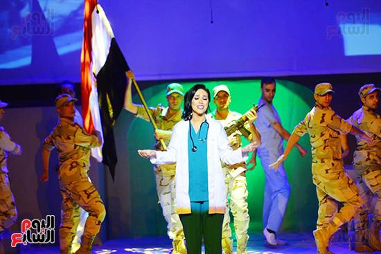 جانب من العرض المسرحى الوصية (6)