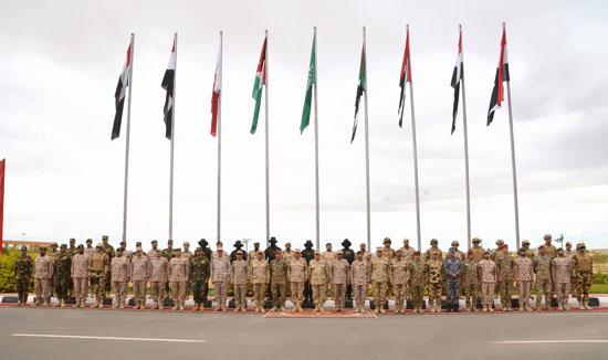 التدريب المشترك سيف العرب (1)