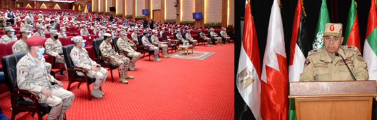 التدريب المشترك سيف العرب (2)