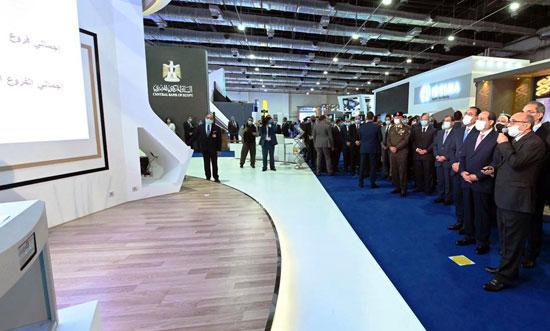 الرئيس السيسى يفتتح معرض ومؤتمر النقل الذكي للشرق الأوسط وأفريقيا (5)