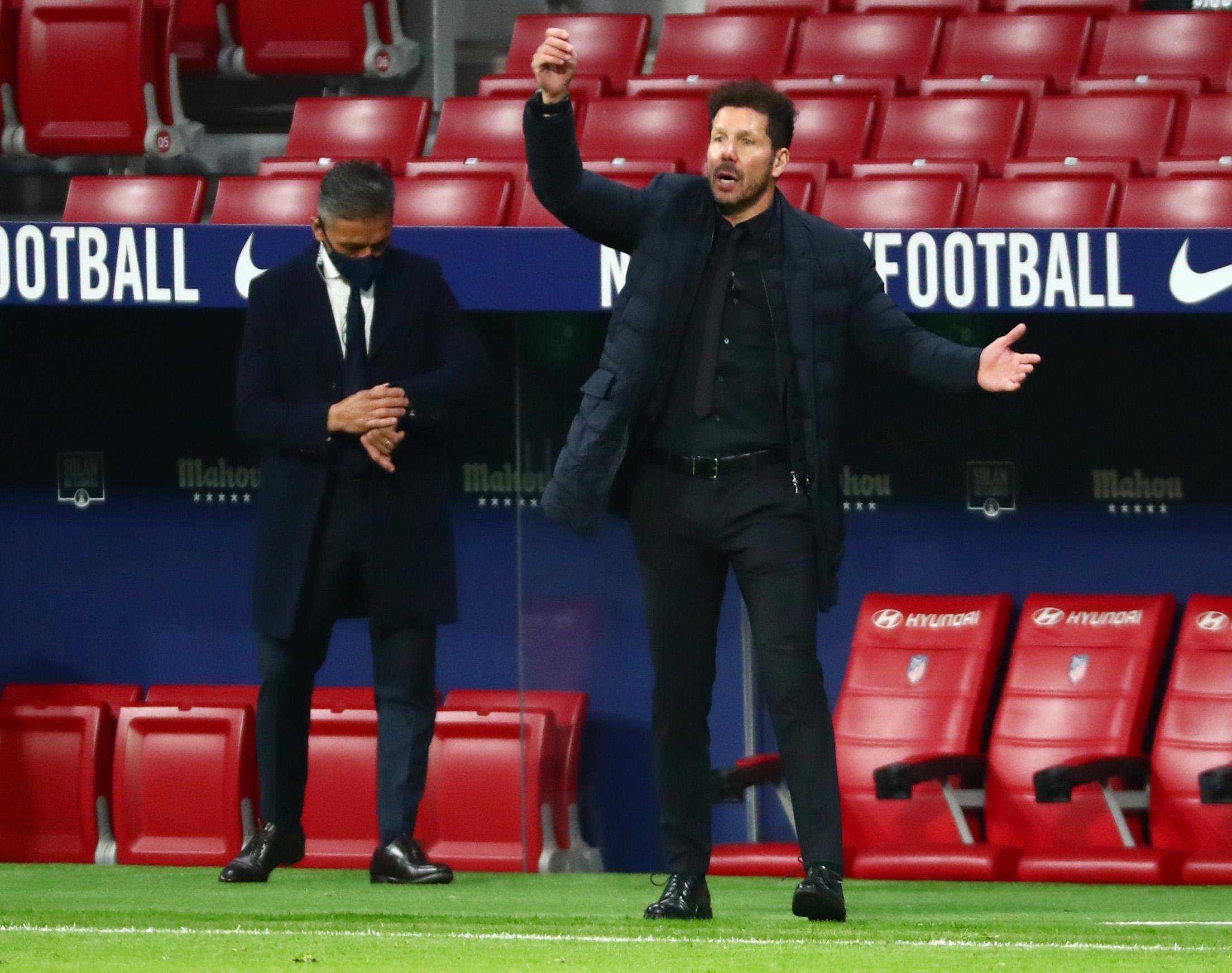 سيميونى مدرب أتلتيكو مدريد