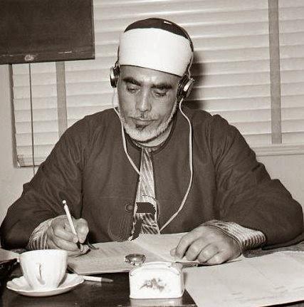 الشيخ محمود خليل الحصرى أول من سجل القرآن مرتلا