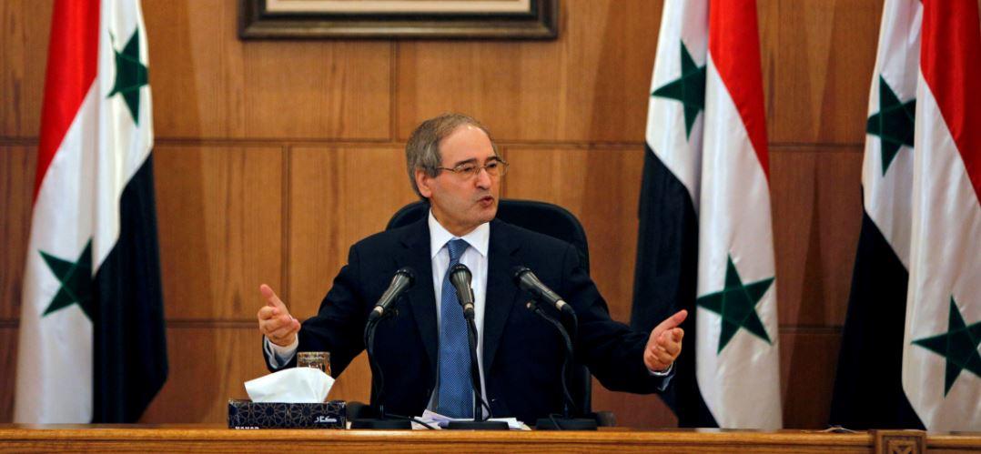 فيصل المقدام وزير الخارجية السوري