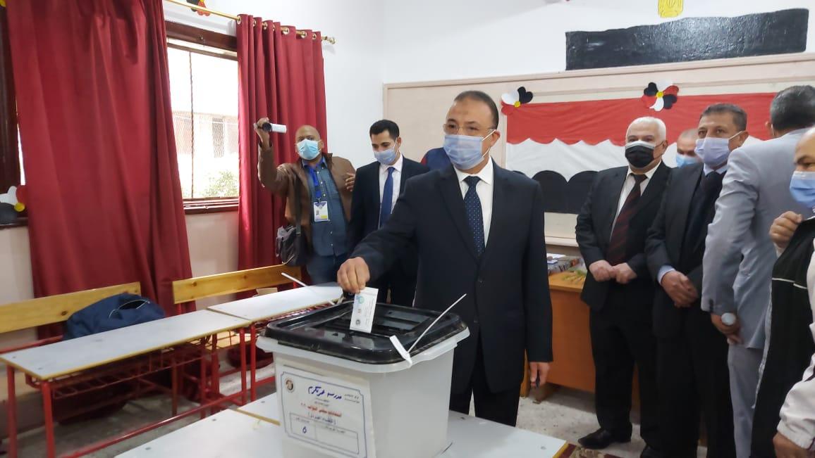 مشاهد فى انتخابات الإعادة لمجلس النواب بالمحافظات (2)