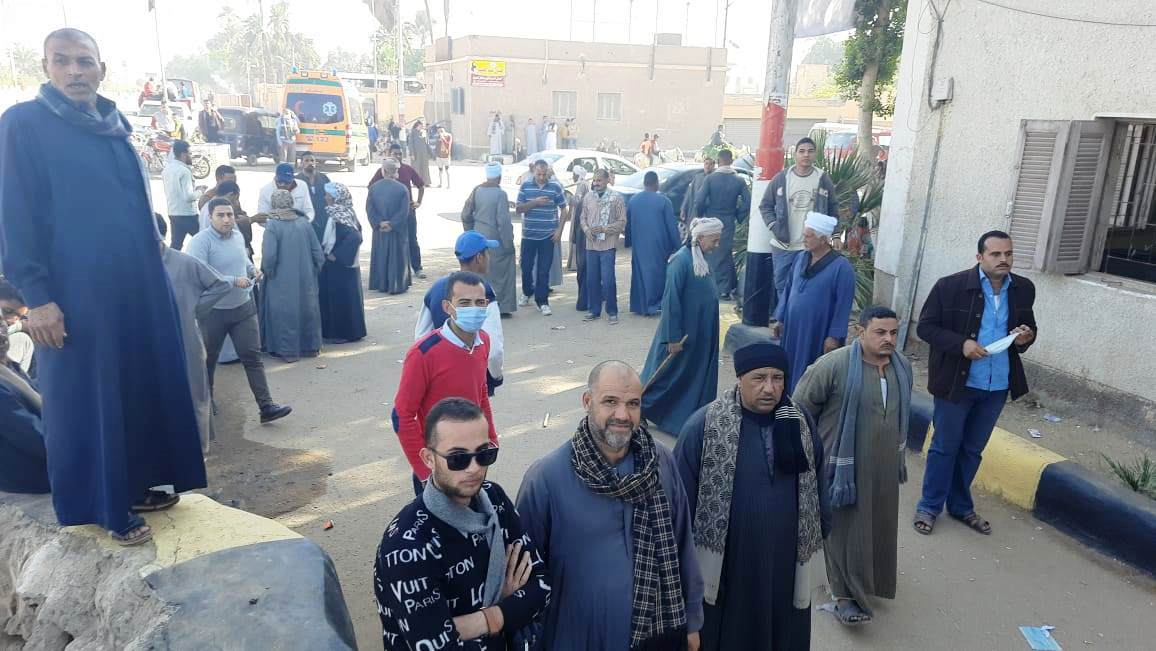 توافد الناخبين فى سوهاج