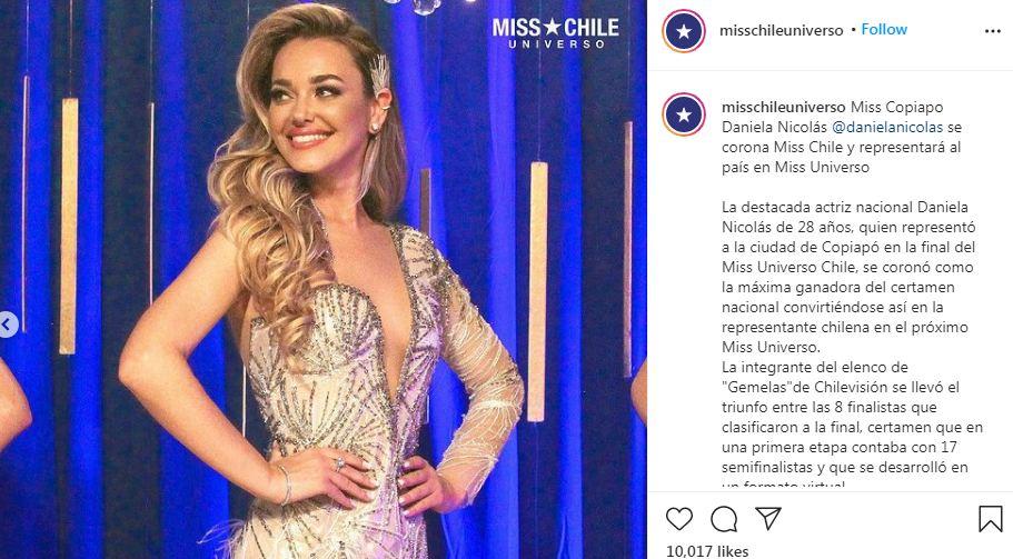 ملكة جمال تشيلي