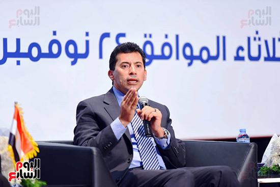 كلمة الدكتور أشرف صبحي وزير الشباب والرياضة (