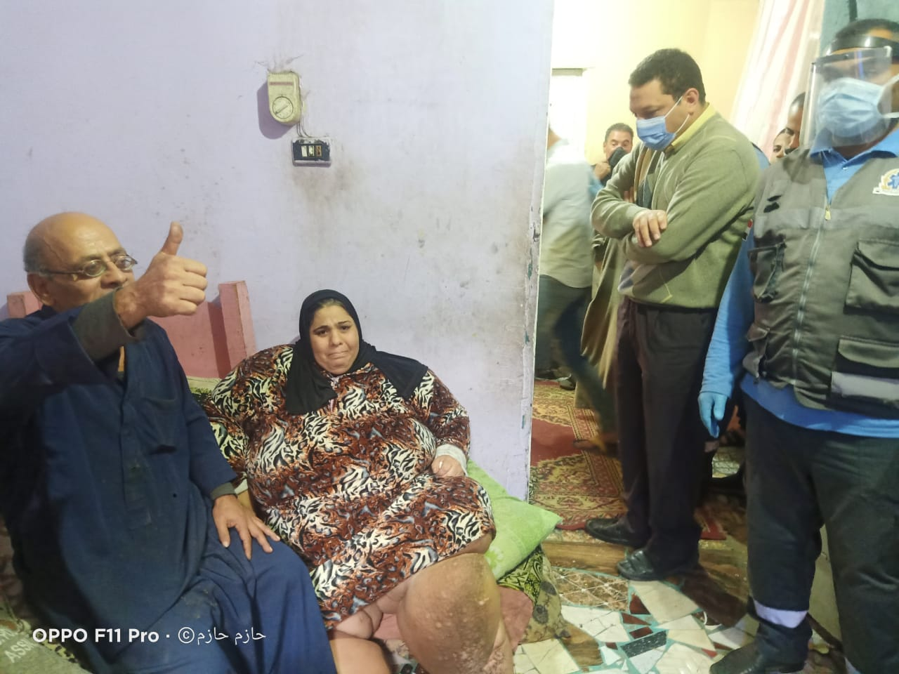 الرئيس السيسى يستجيب لحالة عزيزة ويوجه بعلاجها (2)