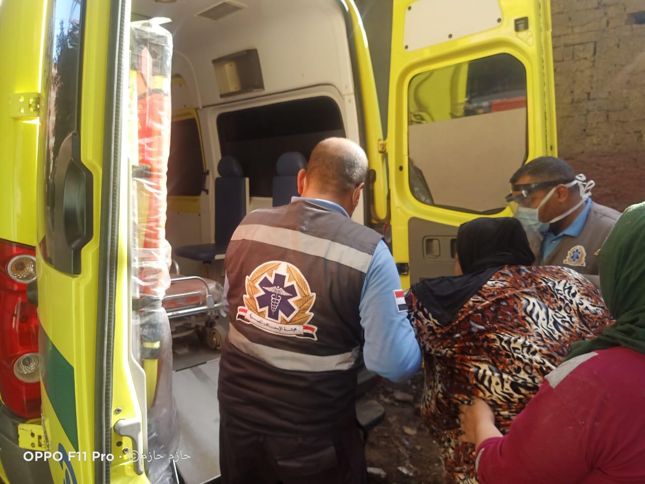 الرئيس السيسى يستجيب لحالة عزيزة ويوجه بعلاجها (3)