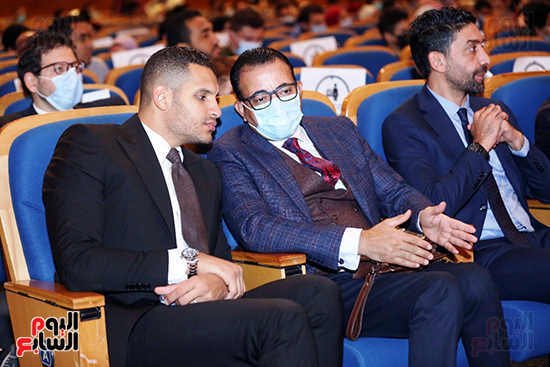 عمر ربيع ياسين والكاتب الصحفى دندراوى الهوارى وإسلام الشاطر