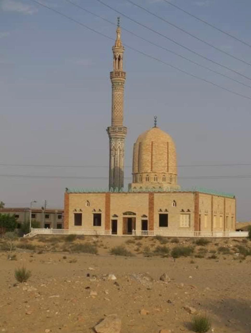 مسجد الروضة فى شمال سيناء