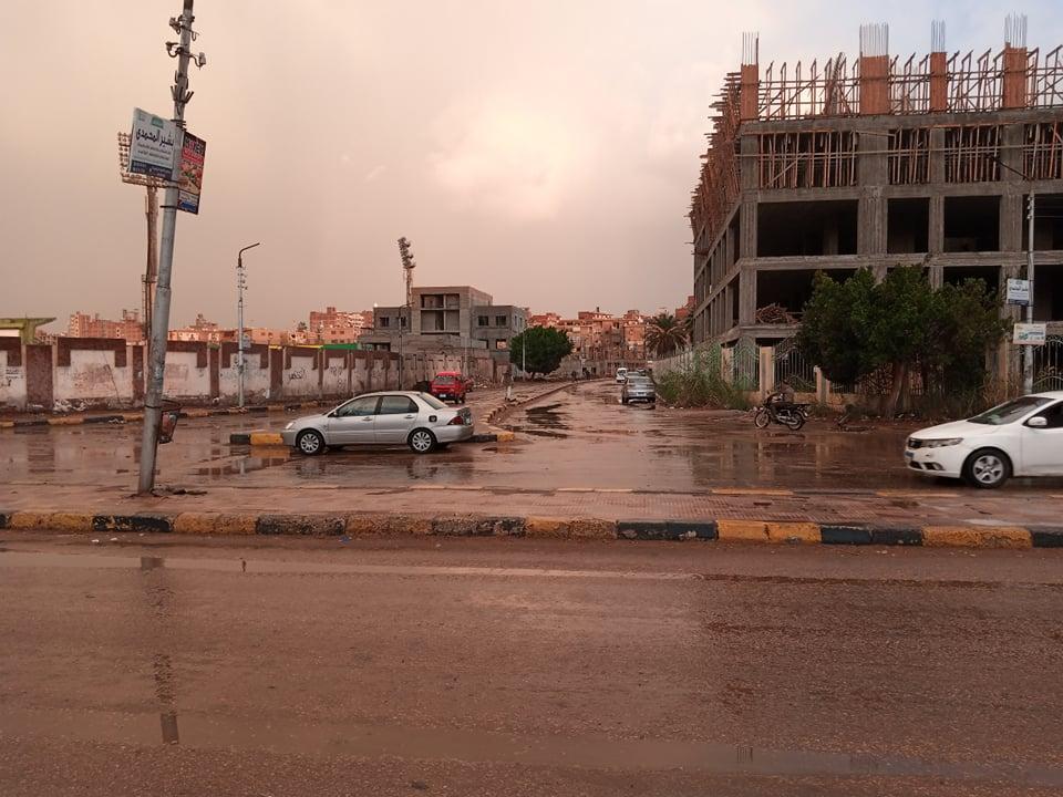 بعد سقوط الأمطار