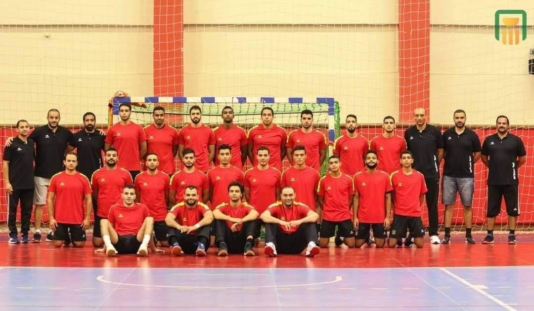 فريق نادي البنك الأهلي المصري - الاسكندرية لكرة اليد الدوري الممتاز