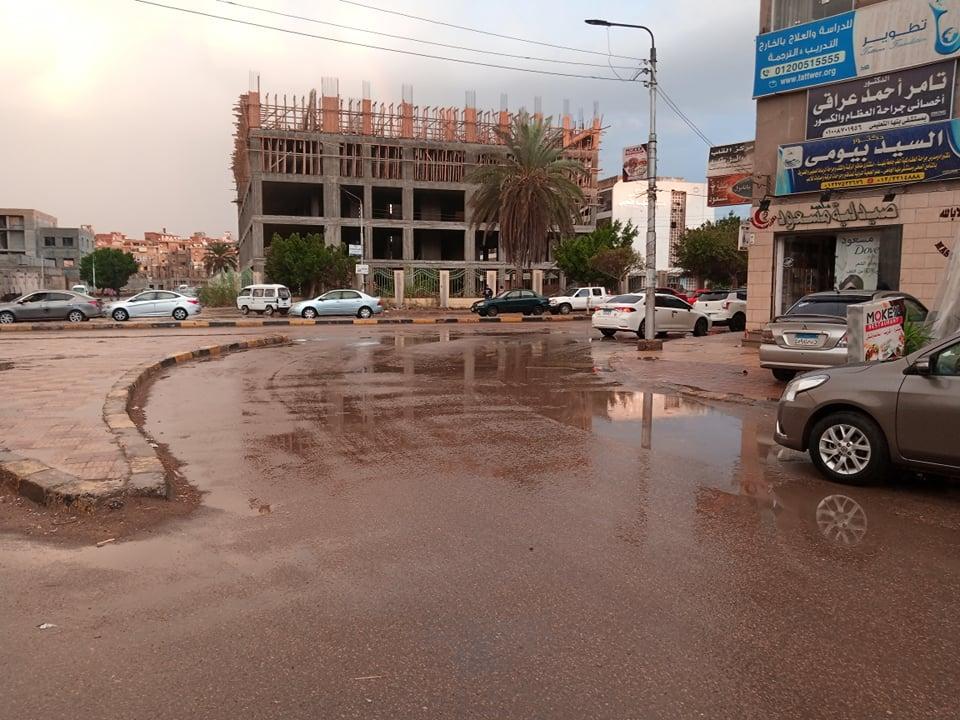 أمطار بمدينة بنها