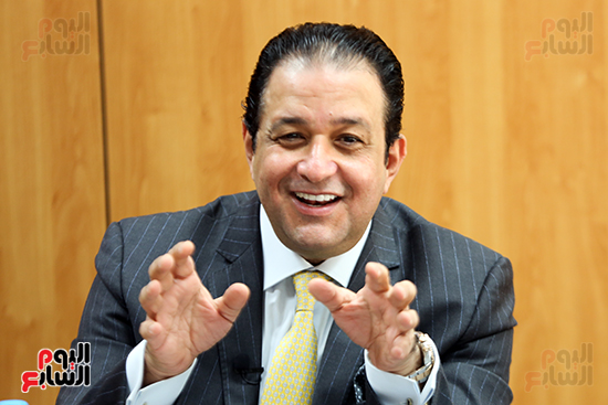 ندوة النائب علاء عابد رئيس لجنة  حقوق الإنسان باليوم السابع  (6)