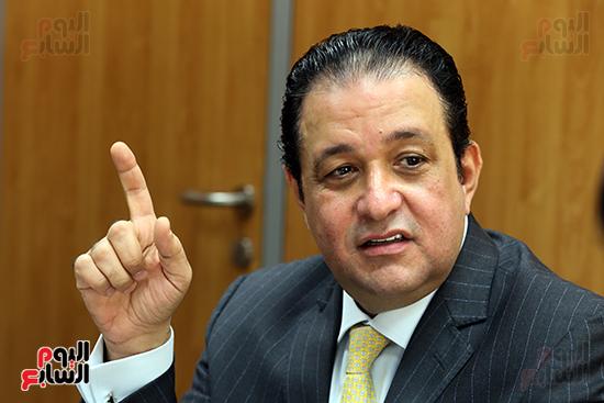 علاء عابد نائب رئيس حزب مستقبل وطن