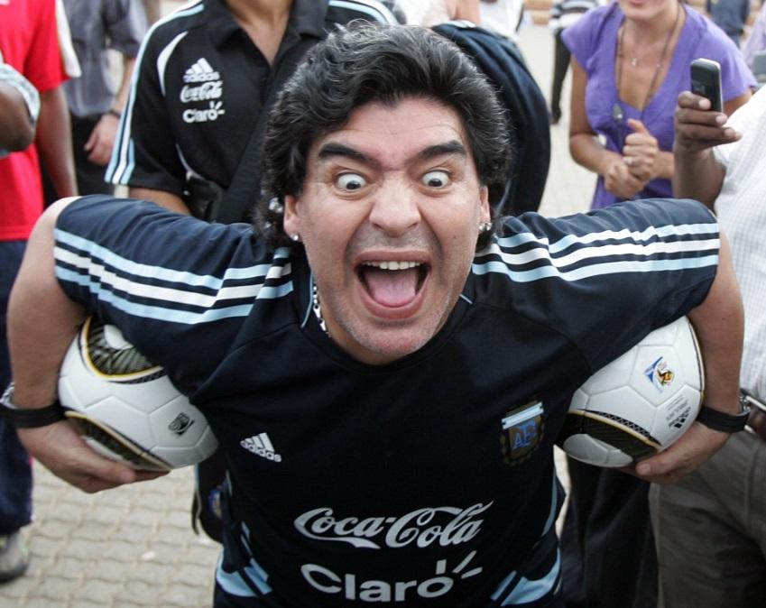 مارادونا تعليقا على قرار ايقافه فى مونديال 1994