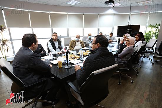 ندوة النائب علاء عابد رئيس لجنة  حقوق الإنسان باليوم السابع  (9)