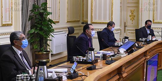 اجتماع مجلس الوزراء، الذي انعقد بتقنية فيديو كونفرانس (3)