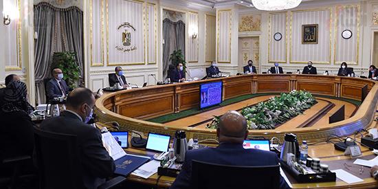 اجتماع مجلس الوزراء، الذي انعقد بتقنية فيديو كونفرانس (2)