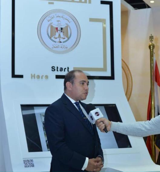 المستشار وديع حنا عضو المكتب الفني لوزير العدل