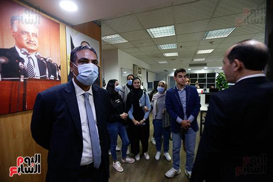 وفد كلية الإعلام جامعة النهضة (15)