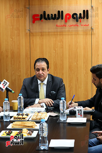 النائب علاء عابد النائب الأول لرئيس البرلمان العربي