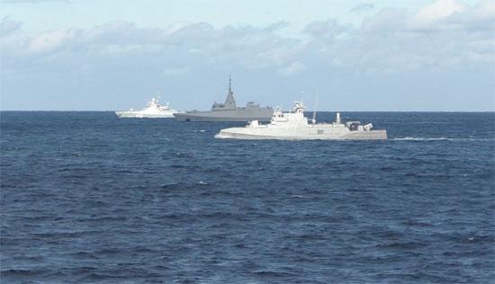ختام فعاليات التدريب البحرى المصرى الروسى المشترك  جسر الصداقة - 3  (4)