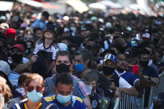 جنازة مارادونا (20)