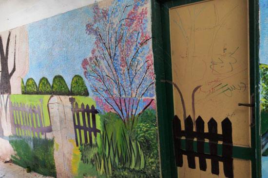 إبداع طلبة كلية التربية النوعية يزين جدران محافظة كفر الشيخ (17)