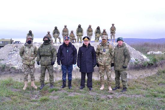 ختام فعاليات التدريب البحرى المصرى الروسى المشترك  جسر الصداقة - 3  (3)