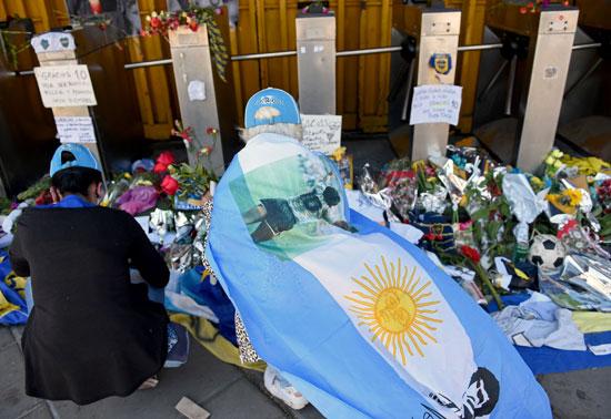 جنازة مارادونا (1)