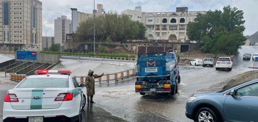 أمطار في السعوديىة