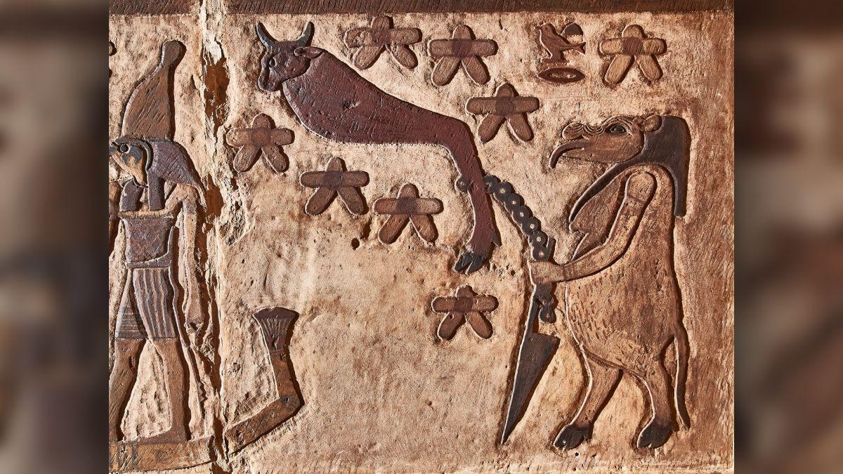 معبد خنوم الفرعونى بمدينة إسنا يشهد أكبر بمشروع قومى  (6)