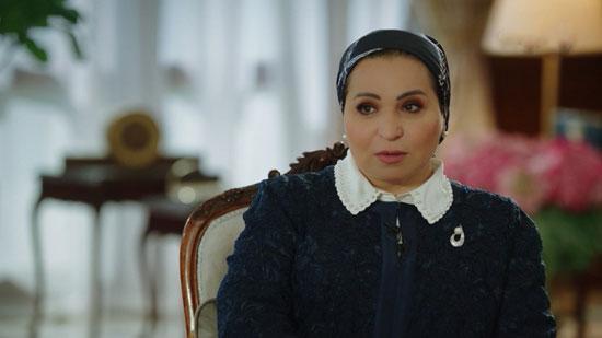 حرم الرئيس السيسى تروى قصة زواجهما