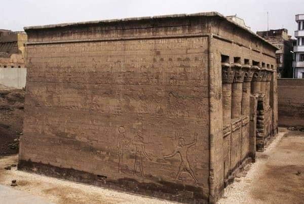 معبد خنوم الفرعونى بمدينة إسنا يشهد أكبر بمشروع قومى  (2)