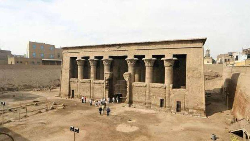 معبد خنوم الفرعونى بمدينة إسنا يشهد أكبر بمشروع قومى  (15)
