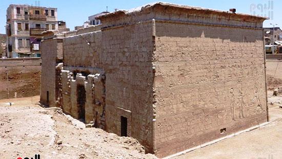 معبد خنوم الفرعونى بمدينة إسنا يشهد أكبر بمشروع قومى  (5)