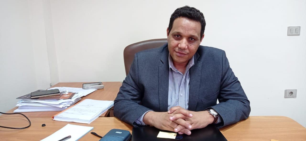 الدكتور ولاء جاد الكريم مدير الوحدة المركزية لمبادرة حياة كريمة