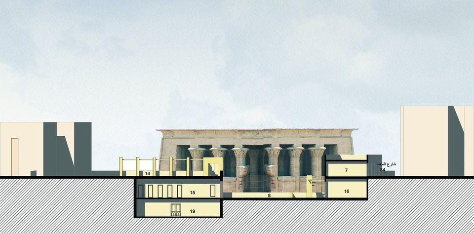 معبد خنوم الفرعونى بمدينة إسنا يشهد أكبر بمشروع قومى  (14)