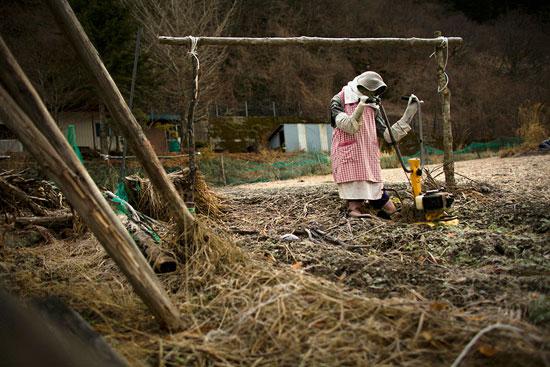 فكرة خيال المآتة صارت فنًا في قرية تسوكيمي