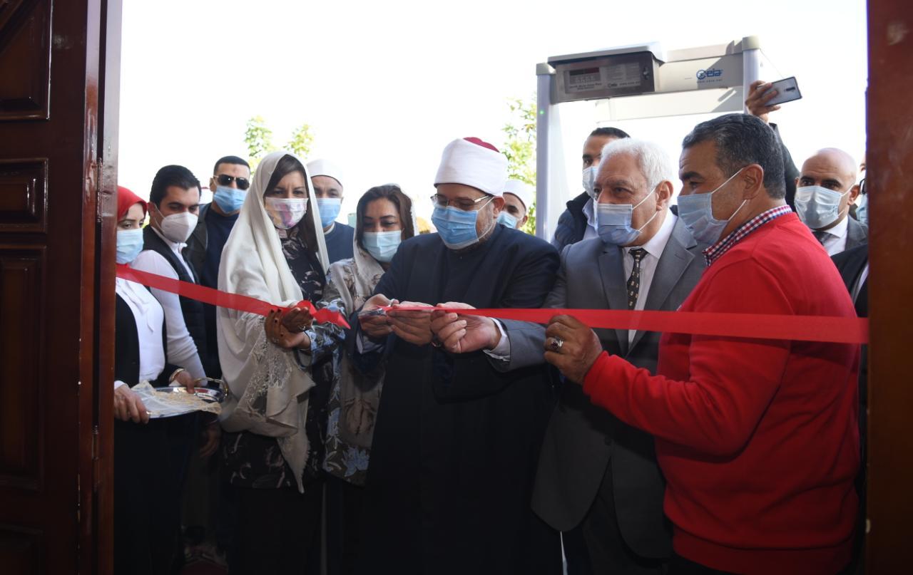 افتتاح مساجد الصفا والرحمة والنخيل برأس البر بدمياط (2)