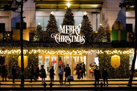 الكريسماس في كوريا