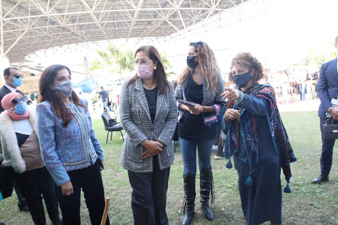 الدكتورة هالة السعيد فى مغرض صنع فى مصر