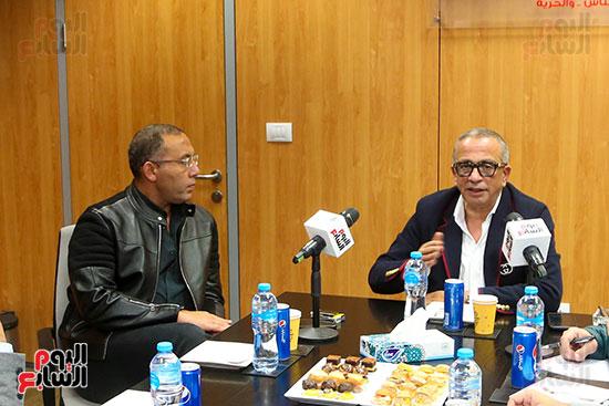 عمرو الجناينى فى زيارته لليوم السابع (3)